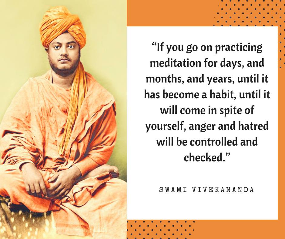 Swami Vivekananda S Quotes On Meditation Vivekavani